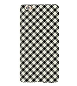 Fuson Premium Dotted Patterns Printed Hard Plastic Back Case Cover for Gionee S6