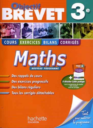 Objectif Brevet - Maths 3e