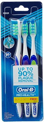 Oral B Pro Health Toothbrush - Medium (Buy 2 Get 1 Free)