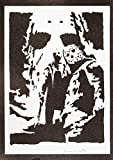 Poster Venerdi 13 Jason Voorhees Handmade Graffiti Street Art - Artwork