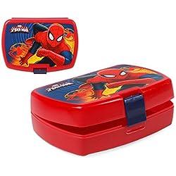 Scatola di Pranzo Spiderman - Portamerenda 16 x 11 cm
