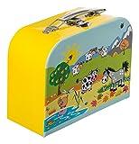 Bieco 04003022 - Koffer Tiermotiv, ca. 18 x 25 cm