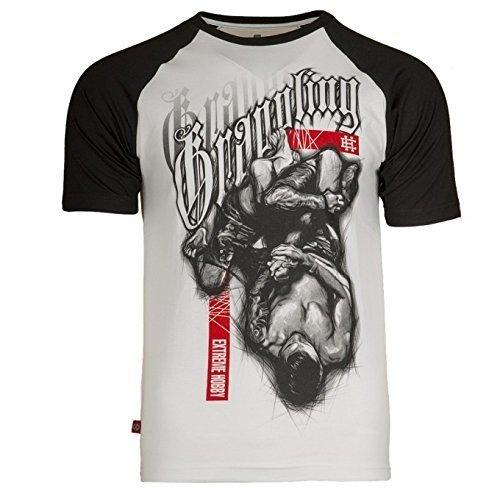 Extreme Hobby T-Shirt. Grappling. Training. Gym. MMA T-Shirt. Kampfkünste. Martial Arts. Casual(Größe XXLarge) (Beste Herren Hobby T-shirt)