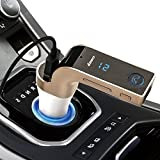 Stylebeats 4-in-1 CAR Bluetooth FM Transmitter With USB Flash Drives/TF Music Player Bluetooth Car Kit USB Car Charger