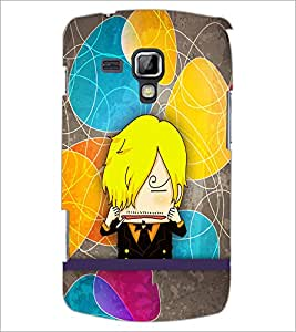 PrintDhaba Cartoon D-3339 Back Case Cover for SAMSUNG GALAXY S DUOS 2 S7582 (Multi-Coloured)