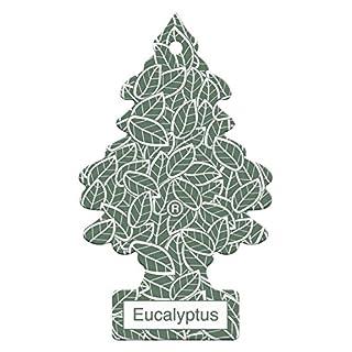 Arbre_Magique PER90532 Auto-Lufterfrischer, Eukalyptus-Duft, Grün Weiß