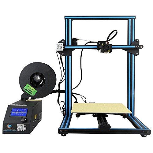 Creality 3D Tienda Directa CR-10 Imprimante 3D Prusa I3 DIY Kit En Aluminium Grande Taille D'impression 300X300X400mm
