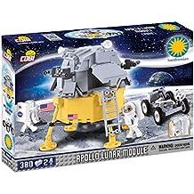 cobi 21075–Apollo lunar Module, Gris/Amarillo