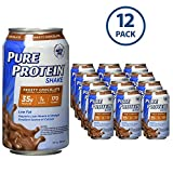 Pure Protein 325 ml Shake - 35 g of Protein - 12 RTD Frosty Chocolate