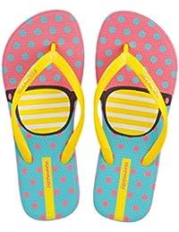 Hotmarzz Chanclas para Mujer Vistoso Sandalias Playa Verano Piscina Ducha Casa Flip Flops