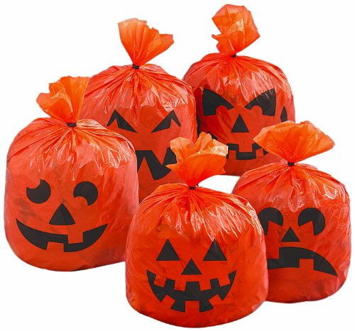 Unique Party Supplies Halloween-Dekoration Kürbis
