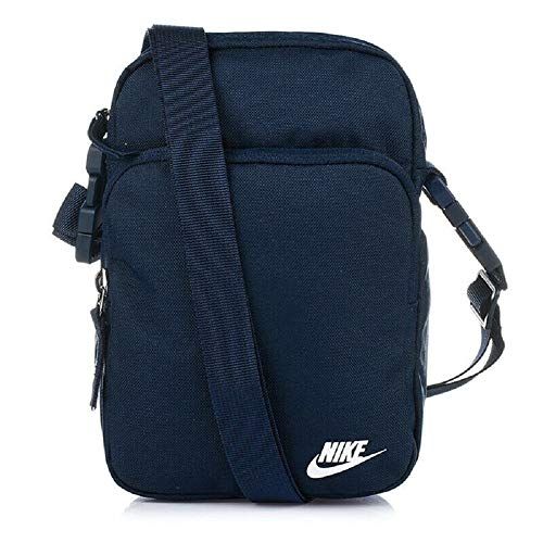 Nike NK Heritage Smit-2.0 Sac de Gym Mixte Adulte, Black/Black/(White), FR Unique (Taille Fabricant : MISC)