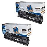 Toner CB435A (35A) für HP Laserjet P1005 P1006 P1007 P1008 P1009 (2x Toner)