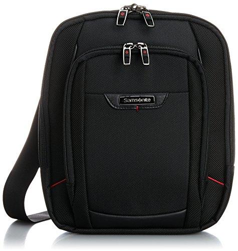 40% OFF on Samsonite PRO-DLX4 Polyester 6 Ltrs Black Messenger Bag (35V 2f3035dd79295
