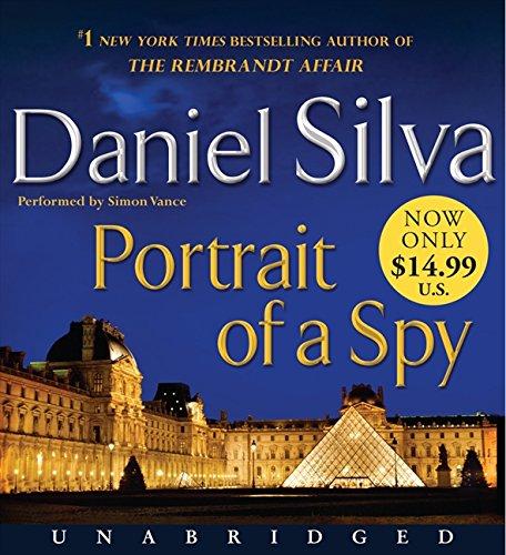 Portrait of a Spy Low Price CD by Daniel Silva,Simon Vance