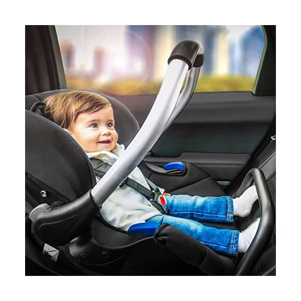 Hauck Comfort Fix, Lightweight Infant Car Seat Group 0+, ECE 44/04, from Birth to 13 kg, Side Impact Protection, Compatible with hauck Isofix Base, Black Hauck Compatible with hauck comfort fix base Side impact protection Quality, breathable stretch fabrics 4
