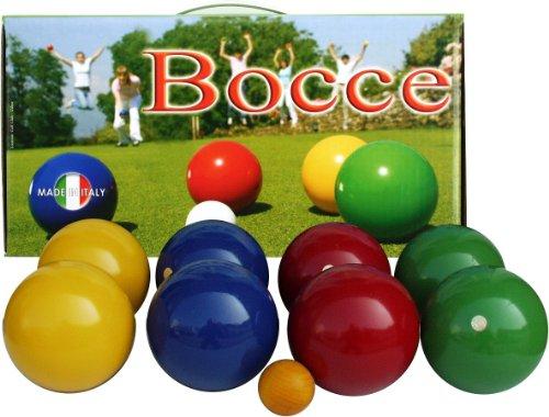 Holz Boccia, Qualitätsspiel Kugeldurchmesser 10 cm