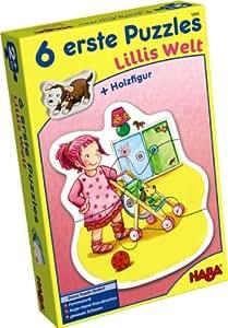 6 premiers puzzles Le monde de Lilli - Haba