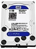 """WD WD40EZRZ Blu Hard Disk Desktop, 5400 RPM, SATA 6 GB/s, 64 MB Cache, 3.5 """", 4 TB"""