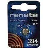 Renata 394 SR936SW SB-A4 Pile oxyde d'argent pour montre 1,55 V