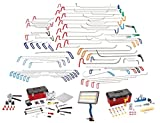 Dent Magic 75pc Ultimate Master Set, ACCESSORY KIT, Kleber Abzieher Set, und PDR LED-Licht
