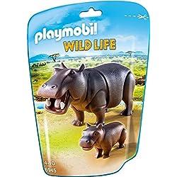 Playmobil Vida Salvaje - Hipopótamos (6945)