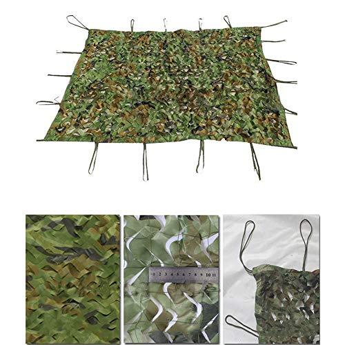 Chunlan Schwerlast Waldland Tarnnetz Grün 5 * 5 cm Nylon-Mesh-Rack Jalousie Für Zelten Im Freien Sonnenschutznetz Schatten Markise (Size : 6X6m) - Um Schießen, Zu Gewinnen