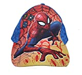 Marvel Spiderman Jungen Cap Kappe Schirmmütze