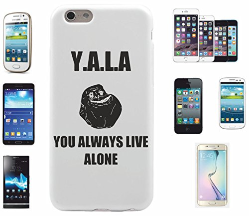smartphone-case-samsung-galaxy-s4-yala-you-always-live-alone-jga-lach-face-spass-kult-dvd-fun-jga