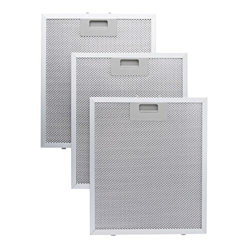 Klarstein Filtro de aluminio para grasa 26,5 x 31 cm Recambio