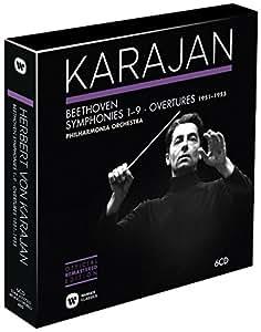 Beethoven: Symphonies & Overtures 1951-1955 (Karajan Official Remastered Edition)