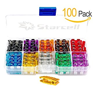 Act Assorted Auto Car Standard Blade Fuse 2A 3A 5A 7.5A 10A 15A 20A 25A 30A 35A (pack of 100)