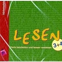 Lernbuch: Lesen 3/4. Texte bearbeiten und besser verstehen: Audio-CD Klasse 3/4