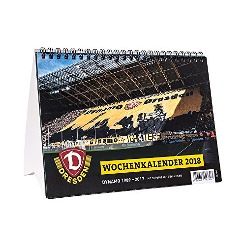 Preisvergleich Produktbild SG Dynamo Dresden Wochenkalender 2018 A5