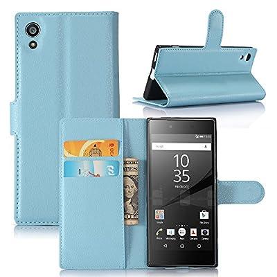 JARNING Sony Xperia XA1 G3112 G3116 G3121 Coque Housse PU Cuir Etui Portefeuille Flip Folio Case Cas Leather Couverture Protection Coquille avec Fonction Stand et Fentes de Carte de Crédit par JFC