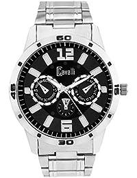 Cavalli Black Dial Analog Watch- For men`