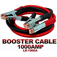 Mammoth® Car Heavy Duty || Jumper Cable Battery Storage || Wire Clamp with Alligator Wire || Start Dead Battery…