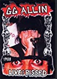 G.G. Allin - Live and Pissed [1988] [DVD] [NTSC]