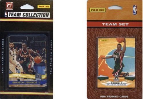 C & I Collectables NBA Milwaukee Bucks 2Verschiedene lizenzierte Trading Card Team Sets - Poster Trading Card