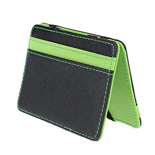 Slim Billetera Mágica - Titular Caja de La Tarjeta de Crédito/ID - Dinero Super Slim Clip de los hombres Para Lechero / Taxi Driver