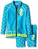 Zunblock Mädchen UV 50 Plus Sets Seahorse, Turquoise, 98/104