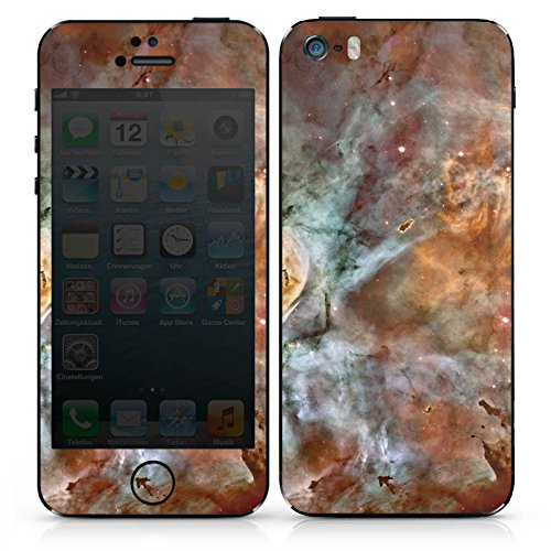 Apple iPhone 5 Case Skin Sticker aus Vinyl-Folie Aufkleber Universum Space Muster DesignSkins® glänzend