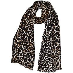 Lujo Alta calidad Extra grande Super suave leopardo bufanda