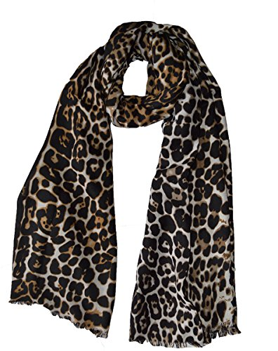 Luxus Hohe Qualität Extra Groß Super Weich Leopard Print Schal