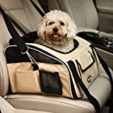 Prime Oxford Cloth Pet Car Booster Seat Portable Carrier Bag Safe Travel Dog Carrier Bike Basket for Cats