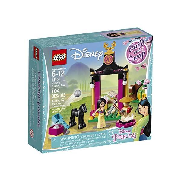 LEGO- Disney Princess Giornata di Addestramento di Mulan, Multicolore, 41151 1 spesavip
