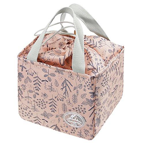 Süße Lunchtasche Mittagessen Tasche Thermotasche Kühltasche Isoliertasche Picknicktasche für Lebensmitteltransport für Büroangestellte und Schüler