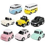 Tire Hacia Atrás el Coches de Juguetes Miniature Camion Modelos para...