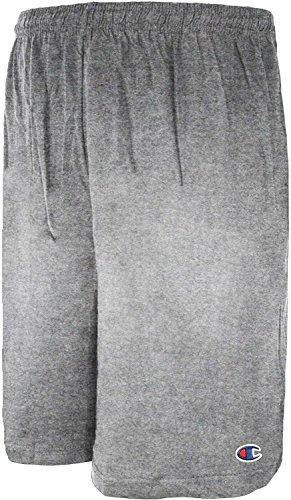 Champion Big Men's Lightweight Cotton Jersey Shorts (Tall-jersey-shorts)