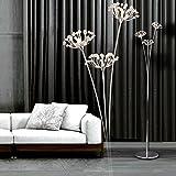 AMOS Im europäischen Stil Wohnzimmer führte Kristall Stehleuchte kreative Schlafzimmer einfache moderne Nachttischlampe (größe : 158 cm)